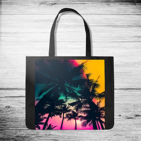 "Сумка-шоппер ""Palms"" (арт. 5) — фото, картинка"