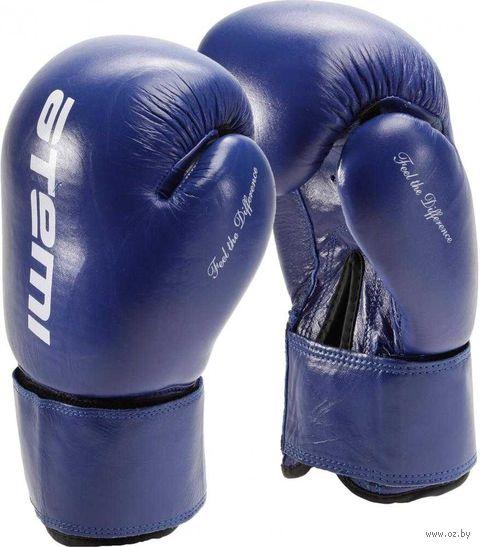 Перчатки боксёрские LTB19009 (8 унций; синие) — фото, картинка