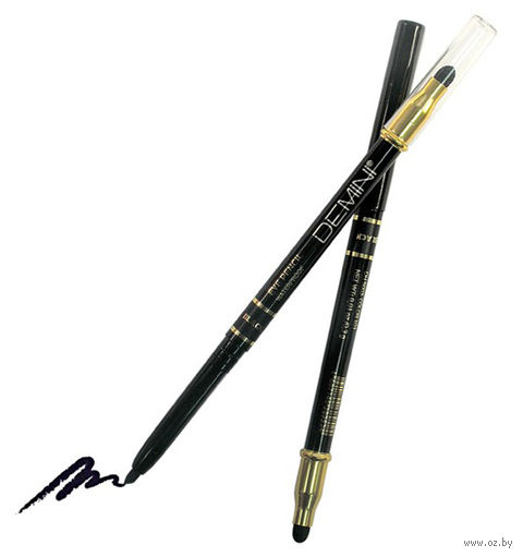 """Карандаш для глаз """"Waterproof Eye Pencil"""" водостойкий тон: 101, чёрный — фото, картинка"""