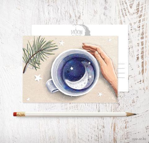 """Открытка """"Пью чай, а там..."""" — фото, картинка"""