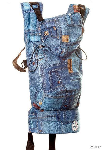 """Эргономичный рюкзак """"Деним"""" — фото, картинка"""