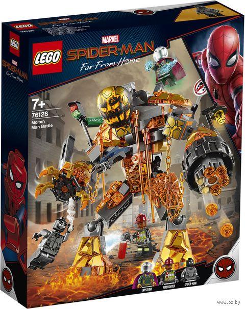 """LEGO Super Heroes """"Бой с Расплавленным Человеком"""" — фото, картинка"""