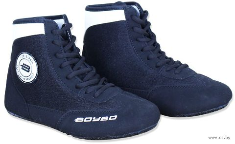 Обувь для борьбы (р. 30; чёрно-белая) — фото, картинка