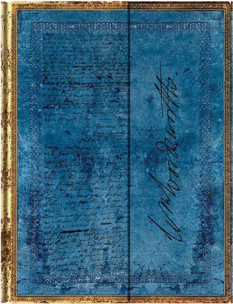 """Записная книжка Paperblanks """"Вордсворт. Письмо с цитатой из """"Желтых нарциссов"""" в линейку (формат: 100*140 мм, мини)"""