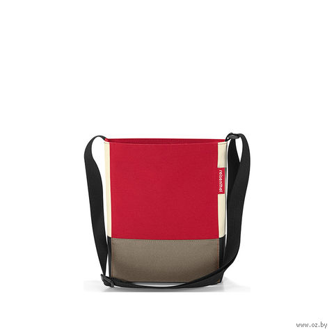 "Сумка ""Shoulderbag"" (S, patchwork red)"