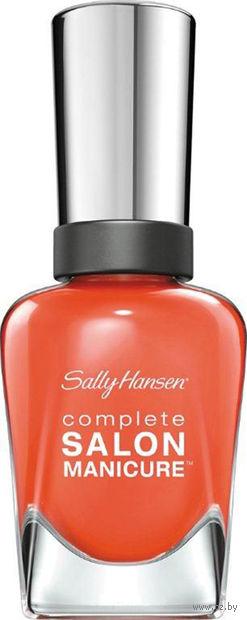 """Лак для ногтей """"Complete salon manicure"""" (тон: 545, ярко-оранжевый)"""