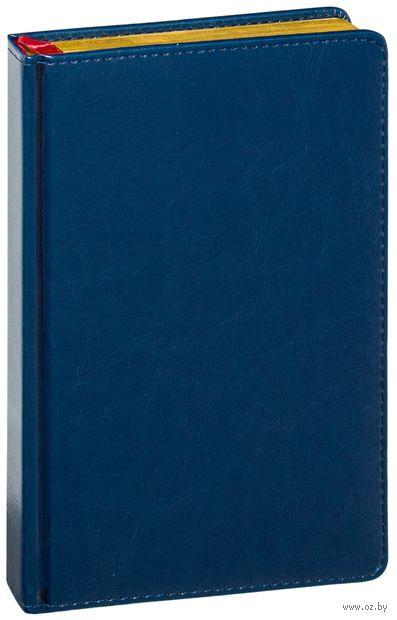 "Ежедневник недатированный ""Sidney Nebraska"" (A5; синий) — фото, картинка"