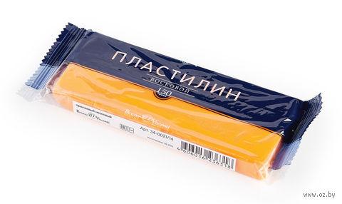 Пластилин восковой (150 г; оранжевый неоновый) — фото, картинка