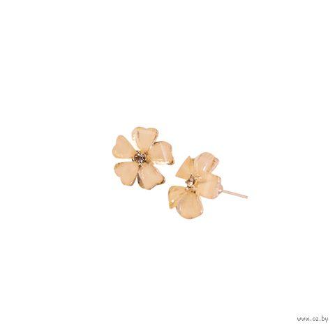 """Серьги """"Цветы"""" — фото, картинка"""