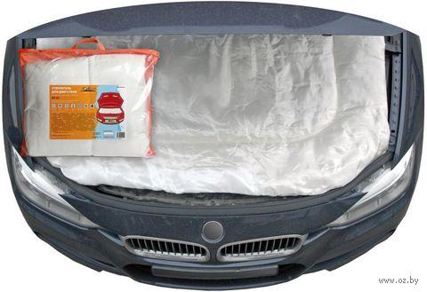 Утеплитель для двигателя (белый; 160х90 см; арт. ACC-03) — фото, картинка