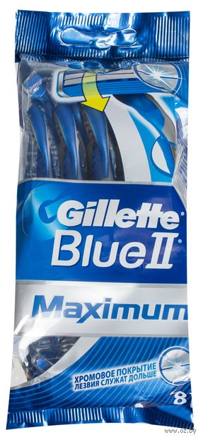 "Станок для бритья ""Blue II Max"" (6+2 шт)"