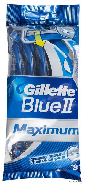 Станок для бритья Gillette BLUE II Max (6+2 шт)