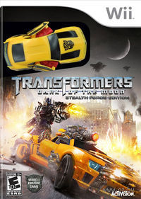 Transformers: Dark of the Moon Stealth Force Edition (Wii)