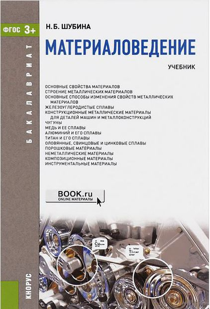 Материаловедение. Н. Шубина