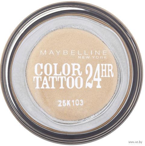 """Тени для век """"Color Tattoo 24 часа"""" (тон: 05, вечное золото)"""