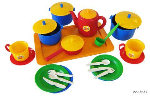 """Набор детской посуды """"Хозяюшка"""" (арт. 21006) — фото, картинка"""