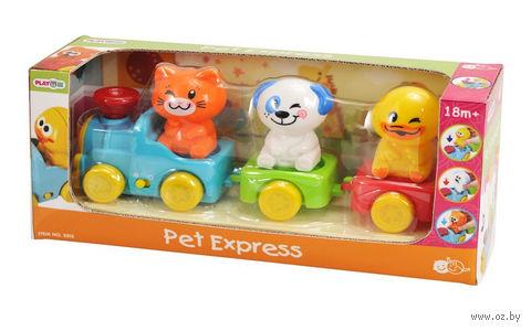"""Музыкальная игрушка """"Экспресс с домашними животными"""" — фото, картинка"""