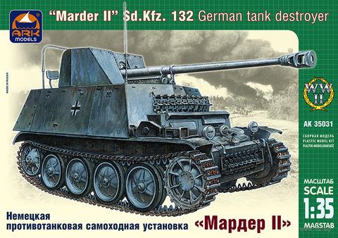 """Немецкая противотанковая самоходная установка """"Мардер II"""" (масштаб: 1/35) — фото, картинка"""