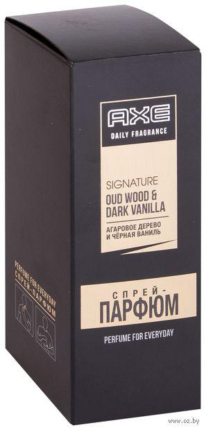 """Парфюмерная вода для мужчин """"Signature. Агаровое дерево и черная ваниль"""" (100 мл) — фото, картинка"""