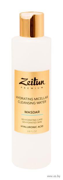 """Мицеллярная вода """"Masdar. Увлажняющая с гиалуроновой кислотой"""" (200 мл) — фото, картинка"""