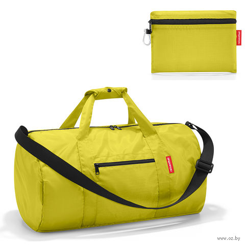 "Сумка складная ""mini maxi dufflebag"" (apple green)"