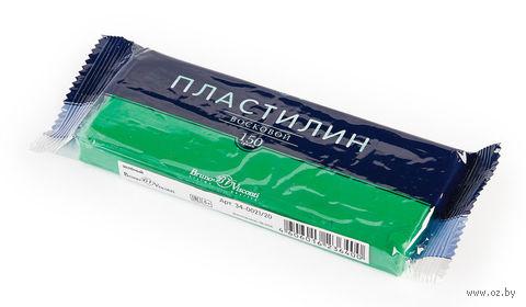 Пластилин восковой (150 г; зеленый) — фото, картинка
