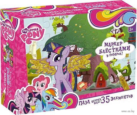 "Пазл ""My Little Pony. Домик Искорки"" (35 элементов) — фото, картинка"