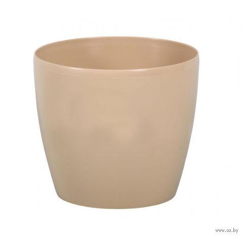 "Кашпо ""Magnolia"" (13,5 см; капучино) — фото, картинка"