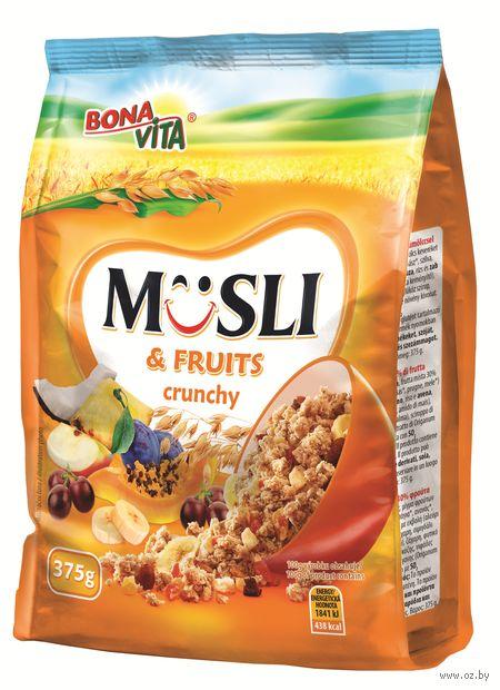 """Мюсли """"Bonavita. С фруктами"""" (375 г) — фото, картинка"""