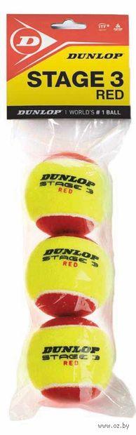"""Мячи для большого тенниса """"Stage 3"""" (3 шт.) — фото, картинка"""