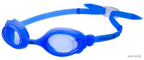 """Очки для плавания """"Kids Marine"""" (голубые) — фото, картинка"""