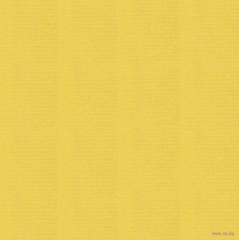 """Бумага подарочная в рулоне """"Coloured Kraft"""" (цвет: желтый)"""