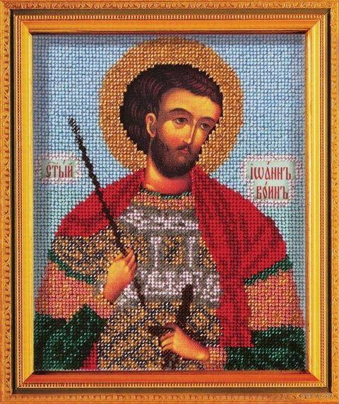 """Вышивка бисером """"Святой Иоан воин"""""""