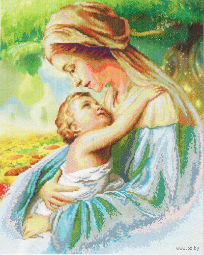 """Алмазная вышивка-мозаика """"Радость материнства"""""""