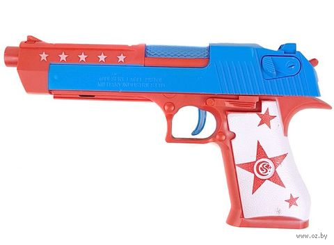 Пистолет (со световыми и звуковыми эффектами; арт. S1208A) — фото, картинка