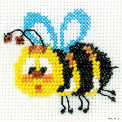 "Вышивка бисером ""Пчелка"" (арт. 1111)"
