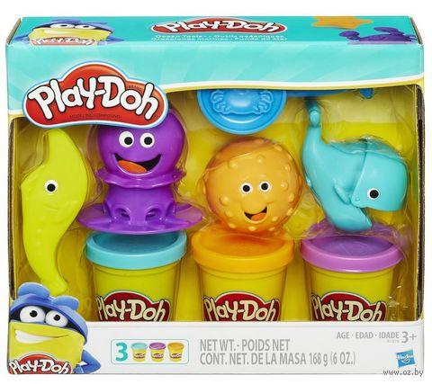 """Набор для лепки """"Play-Doh. Подводный мир"""""""