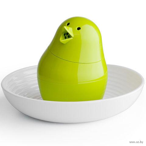 """Набор для завтрака и специй """"Jib-Jib"""" (бело/зеленая)"""