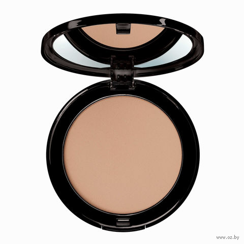 "Крем-пудра для лица ""Compact Powder Foundation"" (тон: 8, natural peach) — фото, картинка"