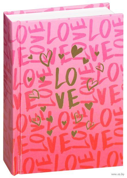 """Ежедневник недатированный """"Стиль. Love"""" (А6) — фото, картинка"""