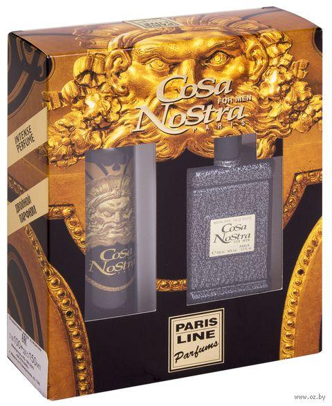 """Подарочный набор """"Cosa Nostra"""" (туалетная вода, дезодорант) — фото, картинка"""