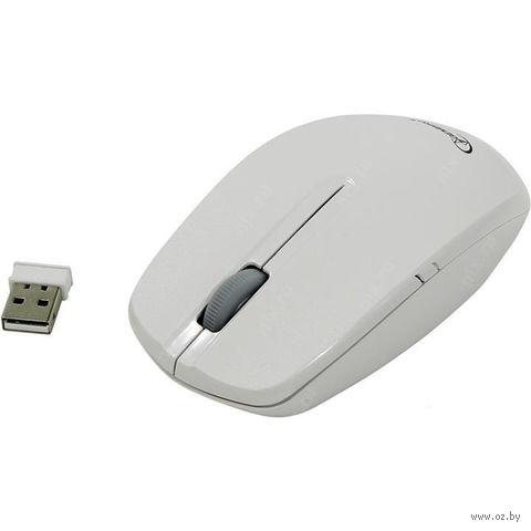 Мышь беспроводная Gembird MUSW-207W (белая) — фото, картинка