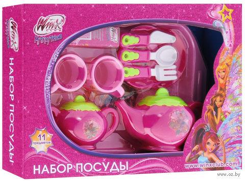 """Набор детской посуды """"Winx"""" (2 персоны)"""