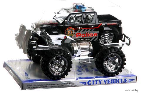 """Полицейская машина инерционная """"Джип City Vehicle"""""""