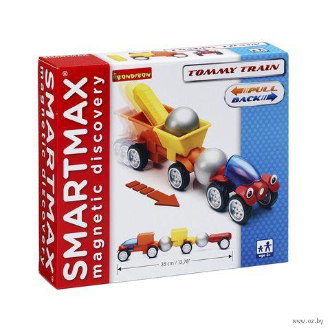 """Конструктор магнитный """"SmartMax. Трейлер Томми"""""""