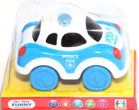 """Машинка """"Полиция"""" (арт. 777-13C) — фото, картинка"""