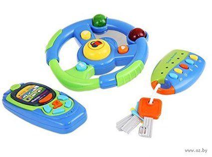 """Набор музыкальных игрушек """"Забавный гонщик"""" (со световыми эффектами)"""
