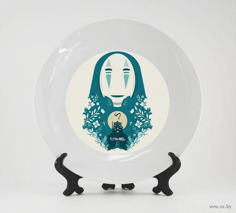 """Тарелка """"Унесенные призраками"""" (890)"""