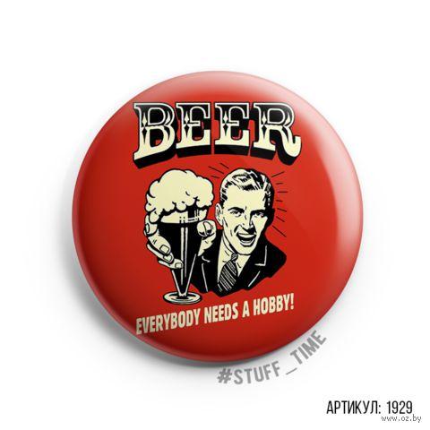 """Значок """"Beer"""" (арт. 1929) — фото, картинка"""