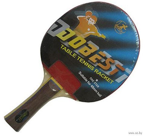 """Ракетка для настольного тенниса """"BR01"""" (1 звезда) — фото, картинка"""